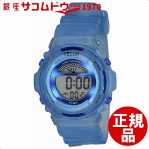 f2c5806b26 腕時計 ウォッチ TELVA テルバ デジタル 腕時計 ストップウォッチ機能付き TE-D067-BL ブルー