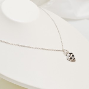 シルバー 925 オニキス ダイヤモンド ネックレス メンズ レディース ユニセックス