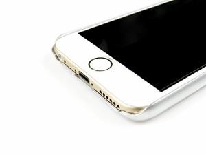 エアージェイ BMW iPhone6 カーボンファイバー シルバー BMHCP6MDCS エアージェイ