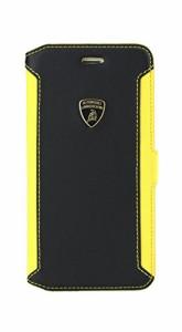 Lamborghini 公式ライセンス品 Genuine Leather book case w/card holder iP