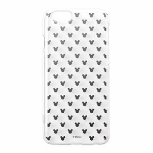 iPhone6s/6ケース/iJacket/ディズニーキャラクター/ポリカーボネイト/クリアケース/シルバー箔押し/ミッキーパ