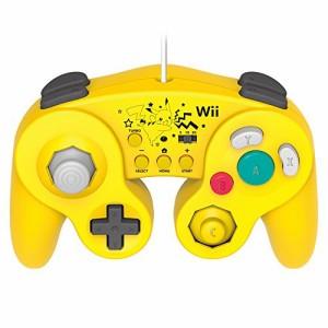 """【Wii U/Wii対応】ホリ クラシックコントローラー for Wii U ピカチュウ (特典 Wiiリモコンシート(ピカチ"""