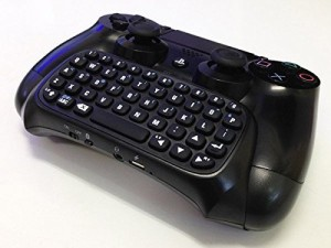 PS4ワイヤレスキーボード [コントローラーに取付可能] WIRELESS KEYBOARD for PS4 Contolle