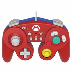 """【Wii U/Wii対応】ホリ クラシックコントローラー for Wii U マリオ ホリ"""