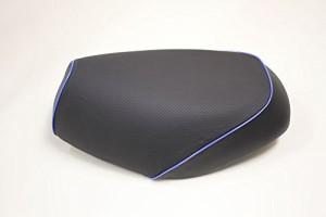 グロンドマン(GRONDEMENT) [AF24]ジョルノ【エンボス(黒)/青パイピング】 グロンドマン国産シートカバー(被せ