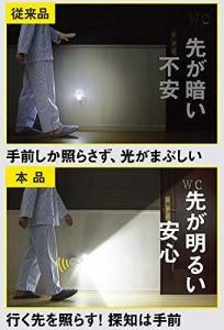 【】 ムサシ RITEX 先みて安心 LEDどこでもセンサーライト(乾電池式) 「防雨型」 防犯ステッカー付き AM-SB30