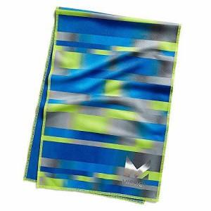 MISSION(ミッション) クーリングタオル ハイドロアクティブ マックス テクニット ラージ 109007 BWコバルトブ