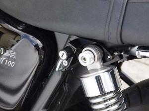 ベビーフェイス(BABY FACE) ヘルメットロック Triumph Bonnevile[ボンネビル] 左 ブラック 009