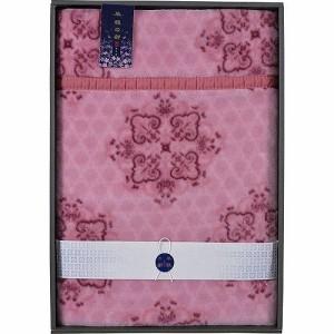 京都西川 風雅の都 衿付きニューマイヤー毛布 B3156056 衿付きニューマイヤー毛布