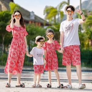 親子 ペアルック 親子コーデ 親子お揃い 親子ペア 親子 tシャツ パンツ ワンピース ご家族お揃い リゾート