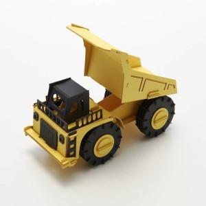 あおぞら ペーパークラフト Cars Craft DAMP TRUCK(ダンプトラック)CC-K1
