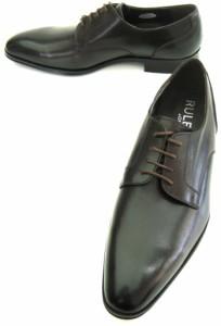 紳士ビジネス 【新品】 RULES ルールス 日本製 プレーントゥ 皇室御用達メーカー大塚製靴 24cmEEE 茶/ダークブラウン RO-3004