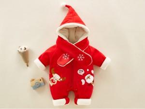 d9d82be12b846 裏起毛 子供服 クリスマス サンタ 中綿コート 女の子 サンタ服 男の子 ロンパース カバーオール 子供 ベビー クリスマス服 厚手