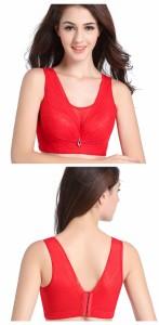 チラ見え防止 ブラジャー 大きいサイズ育乳 ブラ 小さく見せるブラ 胸チラブロック 脇肉スッキリ