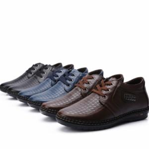 ビジネスシューズ 歩きやすいメンズ 靴 スニーカー スリッポン 本革 2017 新作 通勤 疲れない おしゃれ ローカット