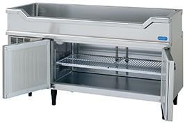 RW-150SNC-T ホシザキ 舟形シンクコールドテーブル冷蔵庫 1500×600×850 100V【新品 送料無料 12ヶ月保証付】