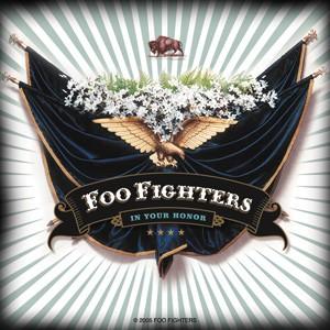 フー・ファイターズ Foo Fighters  Eagle and Flags デラックスステッカー