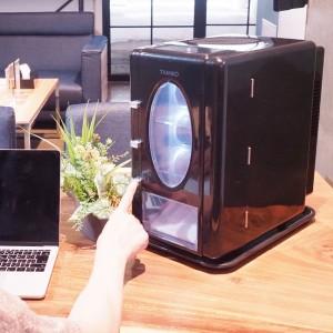 送料無料 インテリア自動販売機型冷温庫 俺の自販機 HOT&COOL 保冷 保温対応 サンコー SCSMVMFS 自販機型 小型 ポータブル 冷蔵庫