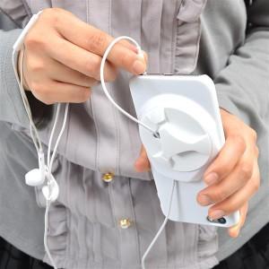 82cf7229d7 【在庫限り】サンコー iPhone6 Plusケース with イヤフォン&ケーブル収納 ブラック IP6PLBL5
