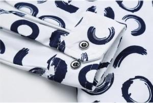 上質 お洒落 メンズ 花柄シャツ 長袖 花柄 シャツ カジュアルシャツ 大きいサイズもあり 2色【M〜7XL】メンズ 長袖 春夏秋対応!