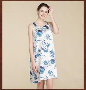 パジャマ レディース パジャマ セクシー 寝巻き 部屋着 ワンピース風 キャミ ルームウェア 夏 キャミ 柔らかい 女性用 絹