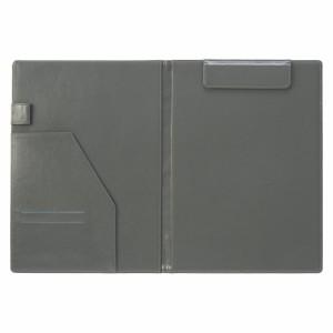 セキセイ  ベルポストクリップファイル二つ折りタイプ ブラック