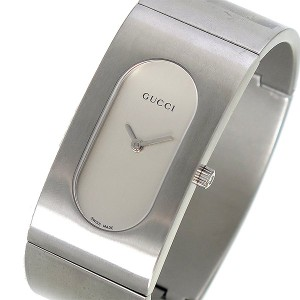 450050b1f9f7 グッチ 腕時計 レディース GUCCI 時計 バングル型 シルバー 人気 ブランド 女性 ギフト クリスマス プレゼント