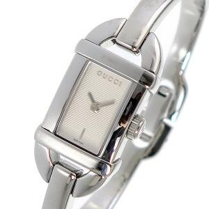 0dff43467a42 グッチ 腕時計 レディース GUCCI 時計 バングル型 アイボリー シルバー 人気 ブランド 女性 ギフト クリスマス プレゼント