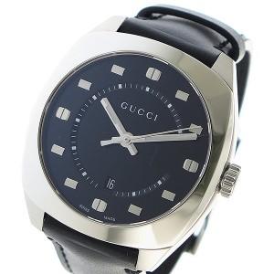 c9240e0aaa0bf2 グッチ 腕時計 メンズ GUCCI 時計 GG2570 ブラック 人気 ブランド おしゃれ 男性 ギフト クリスマス プレゼント