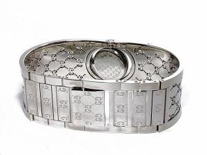 8e168b38130c グッチ 腕時計 レディース GUCCI ブランド 時計 ブラウン シルバー バングル 人気 おしゃれ 女性 誕生日 ギフト プレゼント.  77024-1.jpg