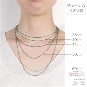 純チタン製ネックレスチェーン キヘイ・喜平 ネックレス 5.9mm幅/45cm/バックル C45B