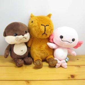 ウーパールーパー ぬいぐるみ かわいい 動物 水族館 雑貨. mz12889