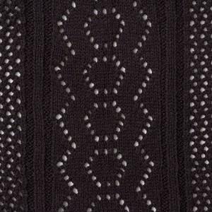 [透かし編みフードダーリンニットカーディガン|DB|LX|SE||]◆入荷済