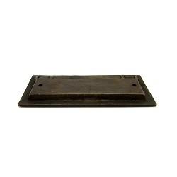 【真鍮取っ手】アンティーク仕上げの埋め込み取っ手 H026【ネコポス発送可】