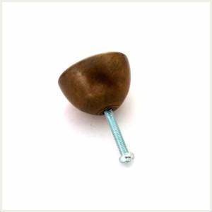 【真鍮取っ手】アンティーク仕上げのつまみ取っ手 N179 【ネコポス可】