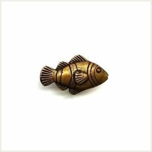 【真鍮取っ手】アンティーク仕上げのつまみ取っ手 N180R