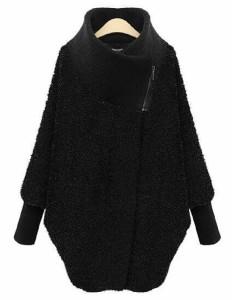 即納 返品可 セール オーバーコート ドルマン コートレディース 韓国ファッション ポンチョコート
