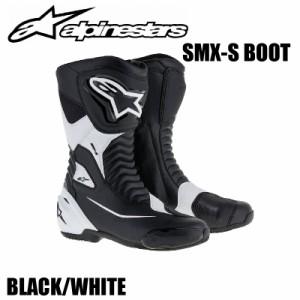 ★送料無料★【Alpinestars(アルパインスターズ)】 SMX S BOOT? ブーツ 12 BK/WH 28(24.0?)〜48(31.5?) 【[ブラック/ホワイト サイズ