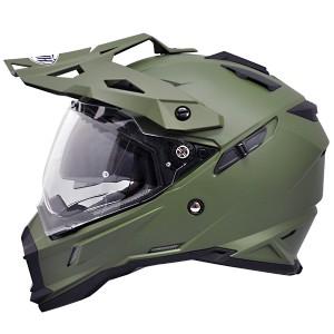 【THH】 フルフェイスヘルメット TX-28 [マットオリーブグリーン] インナーサンバイザー搭載モデル オフロード
