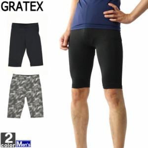 コンプレッション グラテックス GRATEX メンズ 3303 軽量 ハーフスパッツ 2006 スポーツインナー
