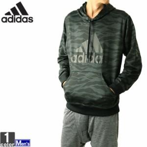 アディダス【adidas】2018年秋冬 メンズ エッセンシャル カモ ライト スウェット プルオーバー FAO98 1809 フード パーカー