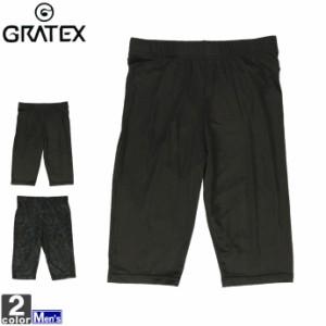 インナーパンツ グラテックス GRATEX メンズ 3323 冷感 コンプレッション 5分丈 スパッツ 1905 タイツ アンダーウェア