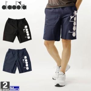 テニスウェア ディアドラ DIADORA メンズ DTP9420 ロゴショーツ 2011 ショートパンツ