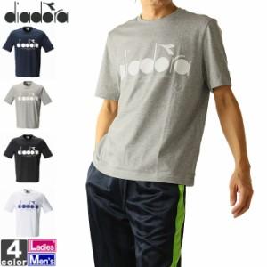 テニスウェア ディアドラ DIADORA ユニセックス DSW9565 マルチ トップ 2101 半袖Tシャツ ゆうパケット対応