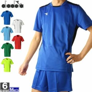テニスウェア ディアドラ DIADORA メンズ DSS8350 DSS ゲームシャツ 2103 半袖Tシャツ ゆうパケット対応