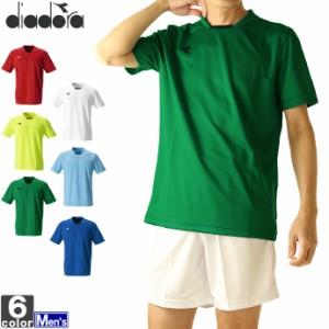 テニスウェア ディアドラ DIADORA メンズ DSS8351 DSS ゲームシャツ 2103 半袖Tシャツ ゆうパケット対応