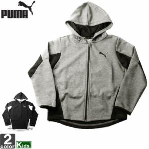 アウター プーマ PUMA ジュニア キッズ 582918 アクティブ スポーツ フーデッド ジャケット 2106 フルジップ