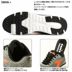 ディアドラ 【DIADORA】メンズ SWAN + 172856 1802 ランニング  スニーカー 軽