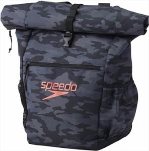 Speedo (スピード) ロールトップバッグ SD97B28 K 1710 【メンズ】【レディース】【男女兼用】
