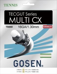 GOSEN(ゴーセン) テックガット マルチ CX 17 TECGUT  MULTI CX 17 TS661NA 1805 【メンズ】【レディース】